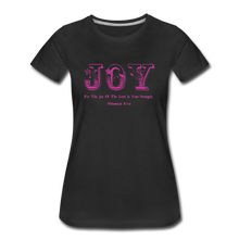 Load image into Gallery viewer, JOY-Women's Premium T-Shirt - black