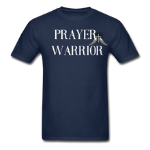 Load image into Gallery viewer, PRAYER-Hanes Adult Tagless T-Shirt - navy