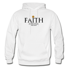 Load image into Gallery viewer, Faith Heavy Blend Adult Hoodie - white