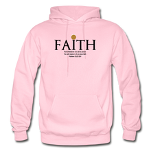 Load image into Gallery viewer, Faith Heavy Blend Adult Hoodie - light pink