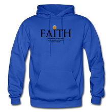 Load image into Gallery viewer, Faith Heavy Blend Adult Hoodie - royal blue