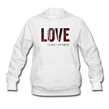 Load image into Gallery viewer, LOVE PINK-Women's Hoodie - white
