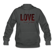 Load image into Gallery viewer, LOVE PINK-Women's Hoodie - asphalt