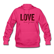 Load image into Gallery viewer, LOVE PINK-Women's Hoodie - fuchsia