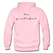 Load image into Gallery viewer, BE GRATEFUL- WOMEN'S Heavy Blend Adult Hoodie - light pink