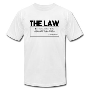 THE LAW-Unisex Jersey T-Shirt - white
