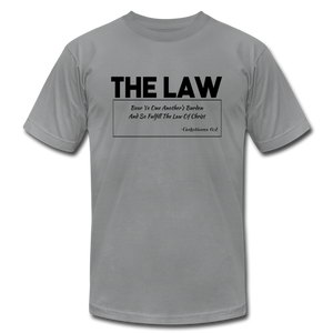 THE LAW-Unisex Jersey T-Shirt - slate