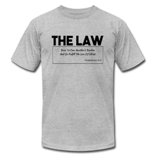 Load image into Gallery viewer, THE LAW-Unisex Jersey T-Shirt - heather gray