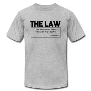 THE LAW-Unisex Jersey T-Shirt - heather gray