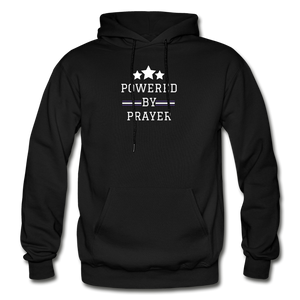 POWER- Heavy Blend Adult Hoodie - black