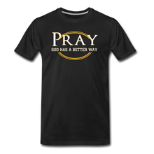 Load image into Gallery viewer, PRAY BIG & TALL-Men's Premium T-Shirt - black