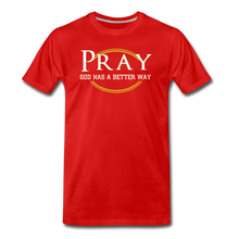 Load image into Gallery viewer, PRAY BIG & TALL-Men's Premium T-Shirt - red