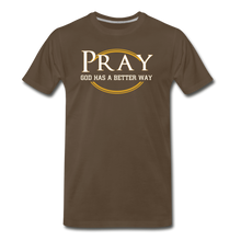 Load image into Gallery viewer, PRAY BIG & TALL-Men's Premium T-Shirt - noble brown