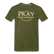 Load image into Gallery viewer, PRAY BIG & TALL-Men's Premium T-Shirt - olive green