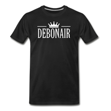 Load image into Gallery viewer, DEBONAIR-Men's Premium T-Shirt - black