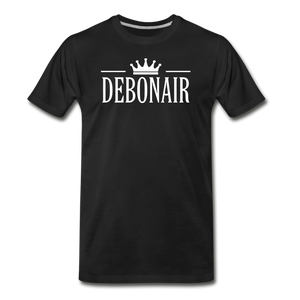 DEBONAIR-Men's Premium T-Shirt - black
