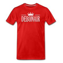 Load image into Gallery viewer, DEBONAIR-Men's Premium T-Shirt - red