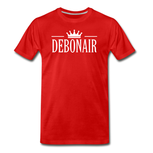 DEBONAIR-Men's Premium T-Shirt - red