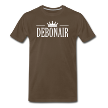 Load image into Gallery viewer, DEBONAIR-Men's Premium T-Shirt - noble brown