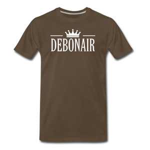 DEBONAIR-Men's Premium T-Shirt - noble brown