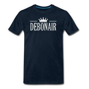 DEBONAIR-Men's Premium T-Shirt - deep navy