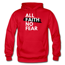 Load image into Gallery viewer, NO FEAR- BIG & TALL MEN'S Heavy Blend Adult Hoodie - red