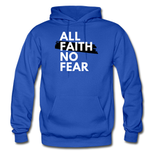 Load image into Gallery viewer, NO FEAR- BIG & TALL MEN'S Heavy Blend Adult Hoodie - royal blue