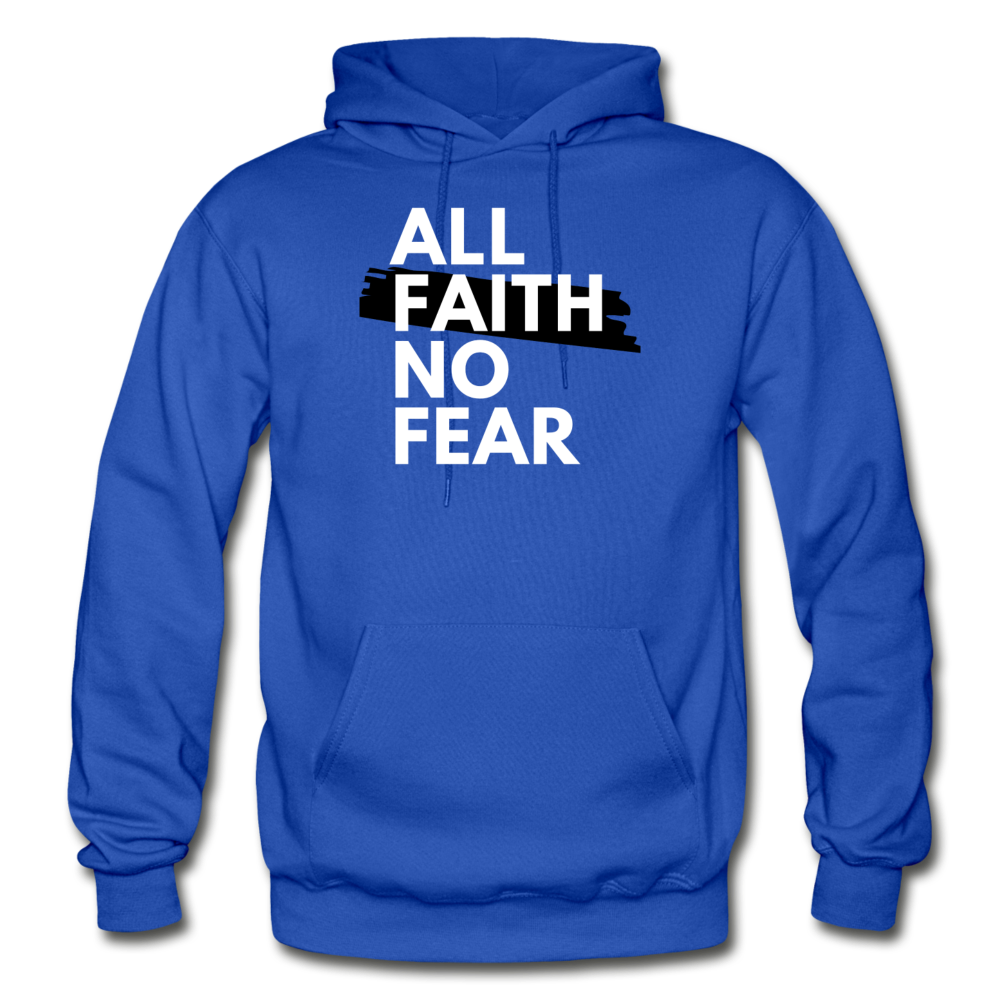 NO FEAR- BIG & TALL MEN'S Heavy Blend Adult Hoodie - royal blue