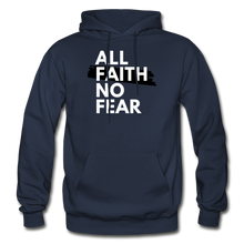 Load image into Gallery viewer, NO FEAR- BIG & TALL MEN'S Heavy Blend Adult Hoodie - navy