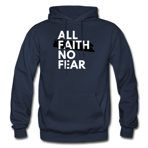 NO FEAR- BIG & TALL MEN'S Heavy Blend Adult Hoodie - navy