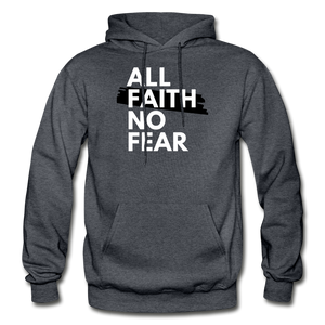 NO FEAR- BIG & TALL MEN'S Heavy Blend Adult Hoodie - charcoal gray