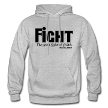 Load image into Gallery viewer, FIGHT-BIG & TALL Heavy Blend Adult Hoodie - heather gray