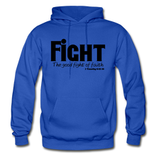 Load image into Gallery viewer, FIGHT-BIG & TALL Heavy Blend Adult Hoodie - royal blue