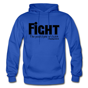 FIGHT-BIG & TALL Heavy Blend Adult Hoodie - royal blue