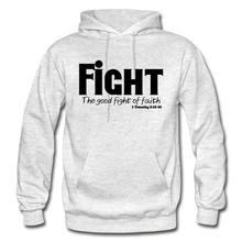 Load image into Gallery viewer, FIGHT-BIG & TALL Heavy Blend Adult Hoodie - light heather gray