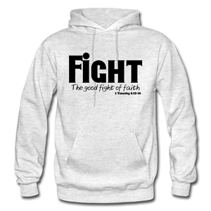 FIGHT-BIG & TALL Heavy Blend Adult Hoodie - light heather gray
