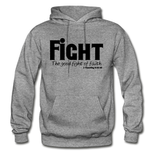 Load image into Gallery viewer, FIGHT-BIG & TALL Heavy Blend Adult Hoodie - graphite heather