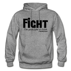 FIGHT-BIG & TALL Heavy Blend Adult Hoodie - graphite heather