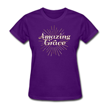 Load image into Gallery viewer, AMAZING GRACE-Women's T-Shirt - purple