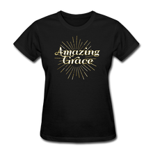 Load image into Gallery viewer, AMAZING GRACE-Women's T-Shirt - black