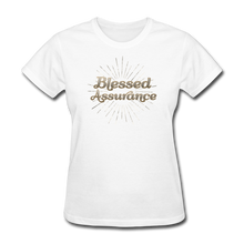 Load image into Gallery viewer, BLESSED ASSURANCE-Women's T-Shirt - white