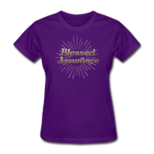 Load image into Gallery viewer, BLESSED ASSURANCE-Women's T-Shirt - purple