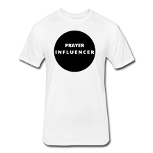 Load image into Gallery viewer, PRAYER INFLUENCER-MEN'S Fitted Cotton/Poly T-Shirt by Next Level - white