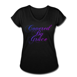 COVERED BY GRACE -WOMEN'S Ultra Cotton Ladies T-Shirt - black