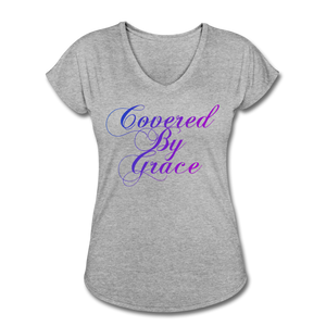 COVERED BY GRACE -WOMEN'S Ultra Cotton Ladies T-Shirt - heather gray