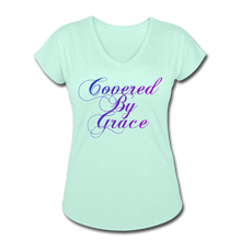 Load image into Gallery viewer, COVERED BY GRACE -WOMEN'S Ultra Cotton Ladies T-Shirt - mint