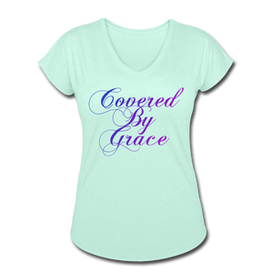COVERED BY GRACE -WOMEN'S Ultra Cotton Ladies T-Shirt - mint