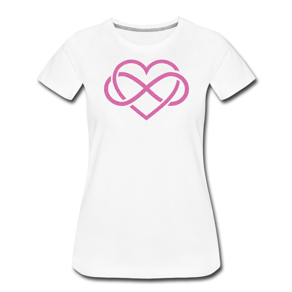 Love Everlasting-Women's Premium T-Shirt - white