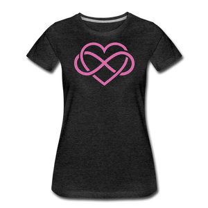 Love Everlasting-Women's Premium T-Shirt - charcoal gray