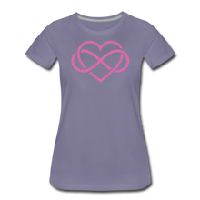 Load image into Gallery viewer, Love Everlasting-Women's Premium T-Shirt - washed violet